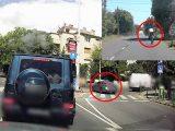 """VIDEÓ: A 12. kerületi """"megintbéemwés"""" és egy """"vallásos bringás"""" mutatványa. Ennyire nem járműfüggő a probléma"""