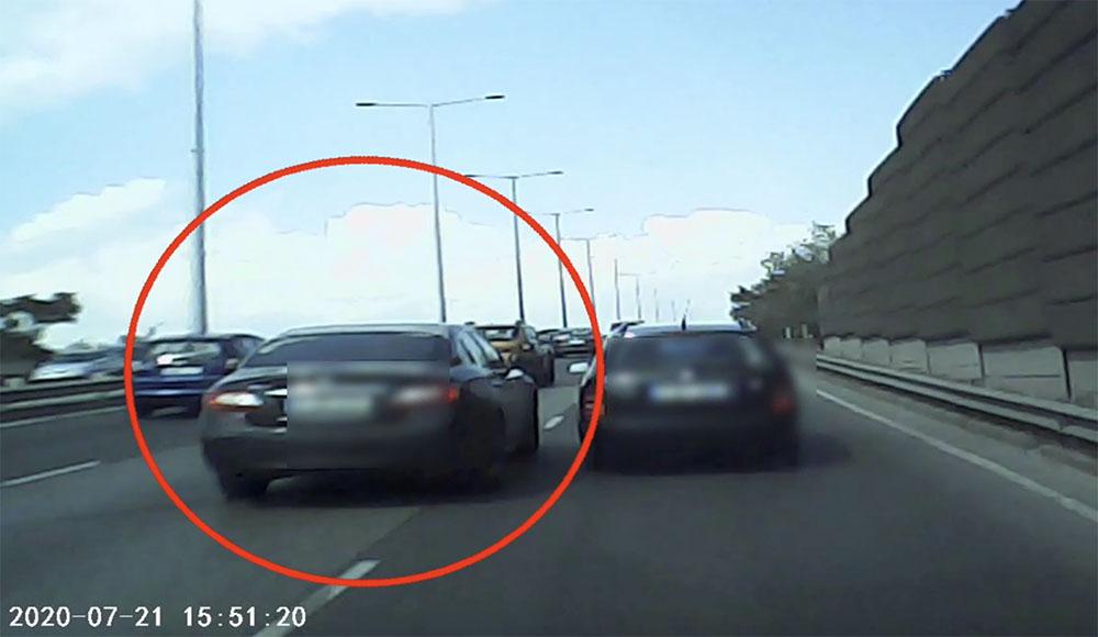Videón egy M3-ason történt baleset, ami kísértetiesen hasonlít egy hó eleji balesetre
