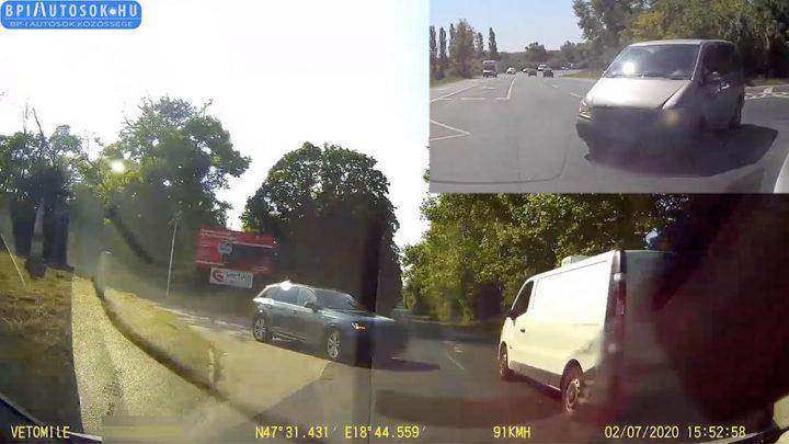 Mindketten hatalmas balesetet kerültek el. Két MEGÚSZÓS OLVASÓI VIDEÓ, amik után alsógatyát cserélsz