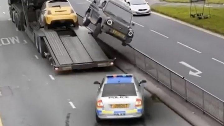 VIDEÓ: Majd ha így lógsz meg a rendőr elől, akkor menj utadra… :)