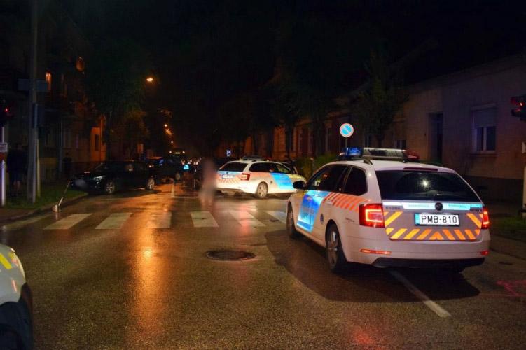 Menekült és elgázolta a rendőrt egy ittas sofőr