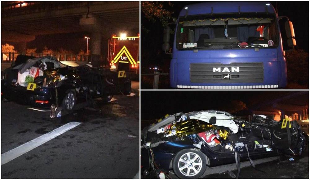 Anyja és kislánya is meghalt – Mágnessel piszkálta meg a tachográfot, majd a rendőröktől megijedve megfordult az autópályán a román kamionos