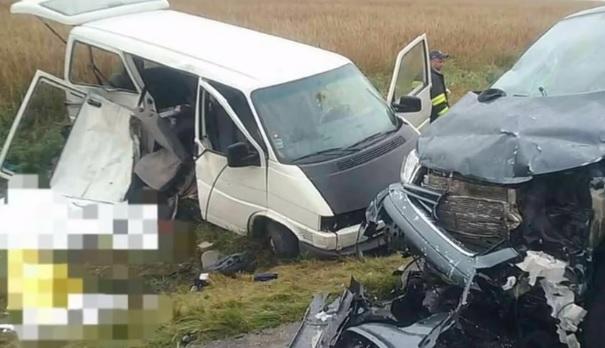VIDEÓ: Négy kisgyerek is meghalt egy borzalmas balesetben – Két kisbusz ütközött frontálisan Tarnócon
