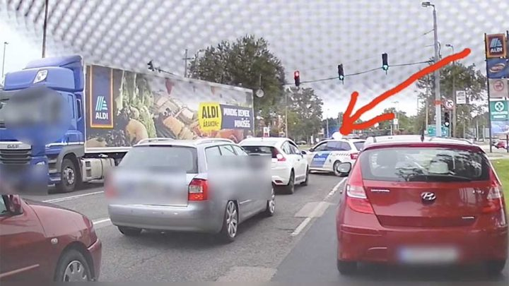 KARMA VIDEÓ: A kamionos, aki szerint ez még sima ügy. A rendőrök szerint nem volt az