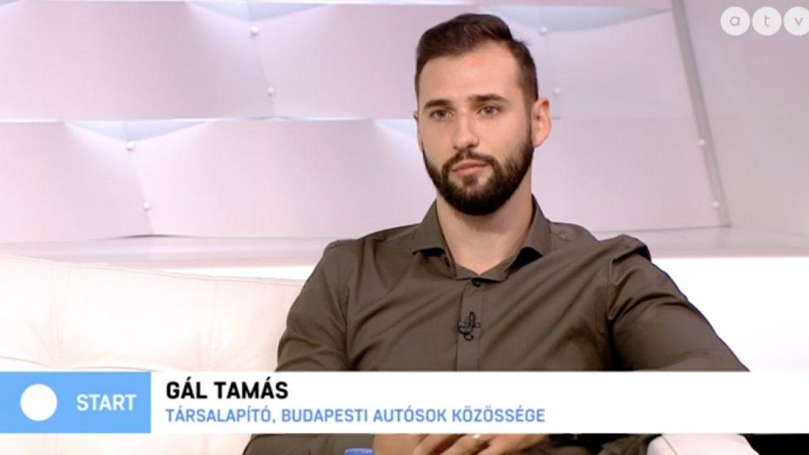 Kerékpársávok: Az ATV Start vendége volt Gál Tamás, oldalunk társalapítója