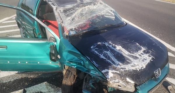 FOTÓK: Ittas sofőr okozott balesetet az M6-os autópályán – Az eset után azonnal elrohant a helyszínről