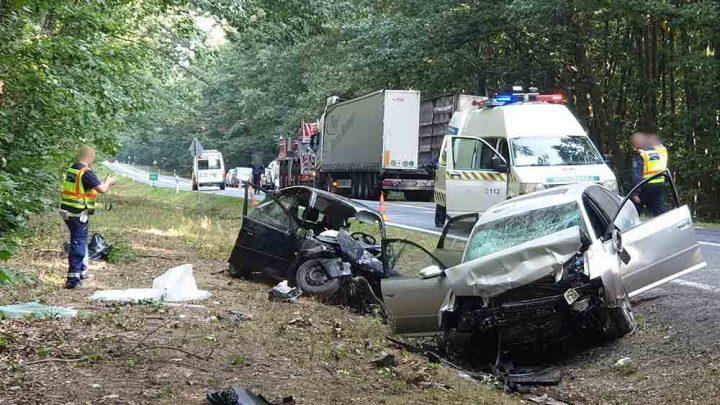 VIDEÓ: Megszólalt a teherautó sofőrje, akit a szabálytalan Audis előzött