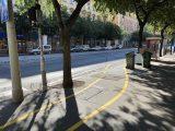 Kényszermegoldás a járdára vitt kerékpársáv. Teljes átalakítás szükséges, kérdés, hogy mire lesz pénz