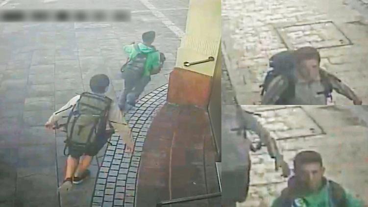 Videón, ahogy lenyúlnak egy táskát egy áruszállítóból Terézvárosban. Keresik őket