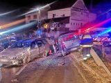 FOTÓK: Soha nem volt jogsija a férfinak, aki ittasan, biztosítás nélküli autóval okozott balesetet – A vétlen súlyosan megsérült