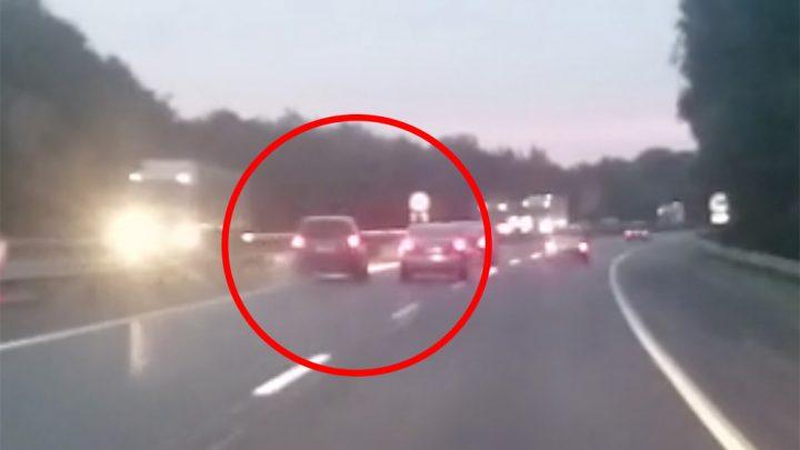 A videó az M1-esen készült: Megnézed és mostantól betartod a követési távolságot!