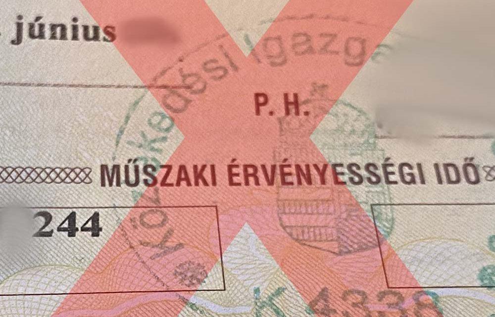 Leállt a műszaki vizsgáztatási rendszer Budapesten