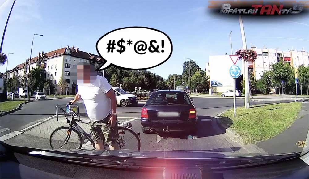 VIDEÓ: Pofátlanítás 20. – Még a kerékpárosnak állt feljebb, aki áttekert (volna) a gyalogátkelőn