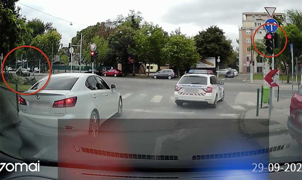 VIDEÓ: A pillanat, amikor olvasónk pofátlan(TAN)íthatta volna meg a rendőrt