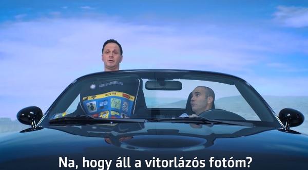 VIDEÓ: A rendőrség új videójában a Stand-up nagyágyúi hívják fel a figyelmet a vezetés közbeni mobilozás veszélyeire