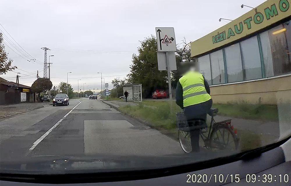 """VIDEÓ: Nem """"divatbringás"""", csak egy józan ésszel ellátott közlekedő"""