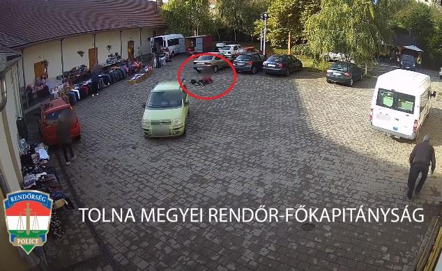 VIDEÓ: Több ember szeme láttára elütött egy idős hölgyet a parkolóban, majd teljes nyugalommal tovább hajtott