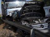 VIDEÓ: Kamion és nyolc autó karambolja az M2-esen – videó a mentésről