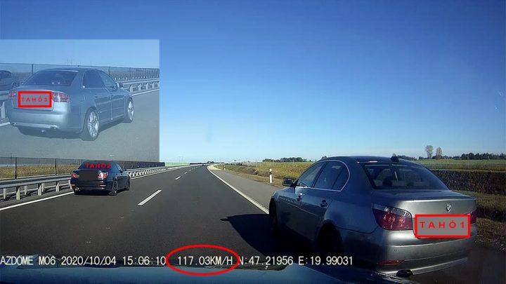 VIDEÓ: A két BMW E60 olyan versenyt tolt az M4-esen, hogy szinte szívrohamot kapott olvasónk