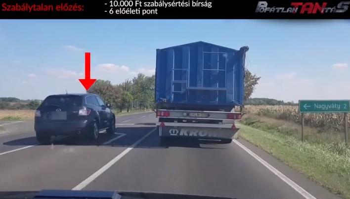 VIDEÓ: Itt a pofátlan(tan)ítás sorozat 21. része – Továbbra is sok a szabálytalanul közlekedő az utakon