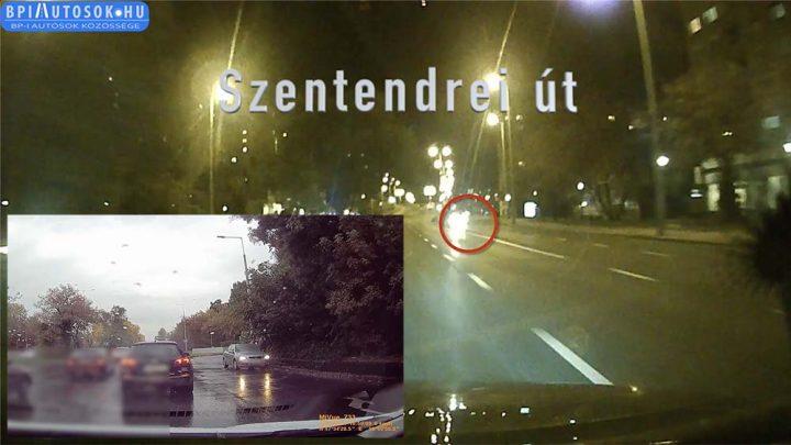 VIDEÓ: Körzetük a Szentendrei út. Tempójuk éjjel halálos, nappal lopakodó