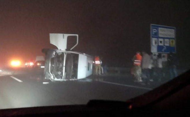 Csúnya baleset történt az M3-as autópályán Budapest irányába