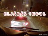 Eljárást indít a rendőrség a reggel posztolt metrópótló előtt büntetőfékező autós ügyében