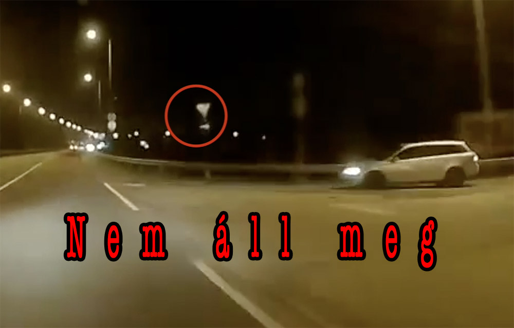 VIDEÓ: Úgy vágódott ki az alárendelt útról a Mazdás, hogy még a szemből kanyarodósávra is szüksége volt