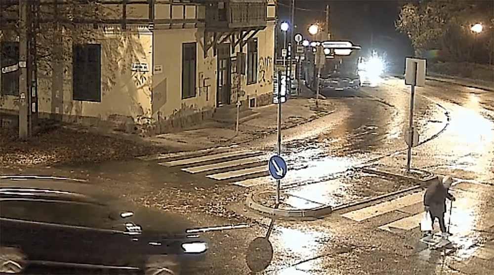 Videón, ahogy elgázolja a gyalogost, majd elhajt a helyszínről. Még aznap elkapták