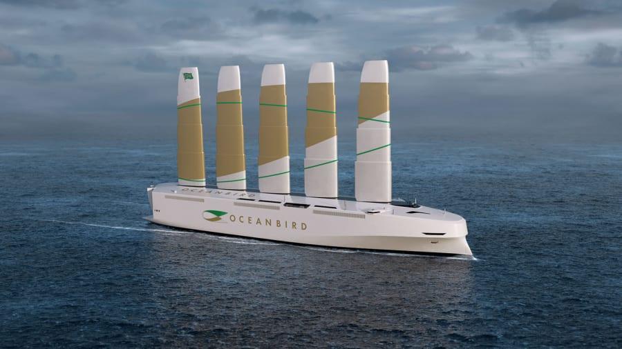 Végre! Na ez környezetbarát: 7000 autót szállítana az új vitorlás hajó, ami a legnagyobb a világon