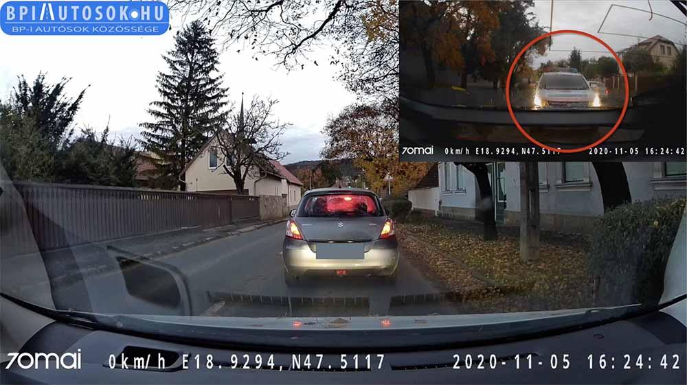 VIDEÓ: Az Audis és az instant karma Budakeszin