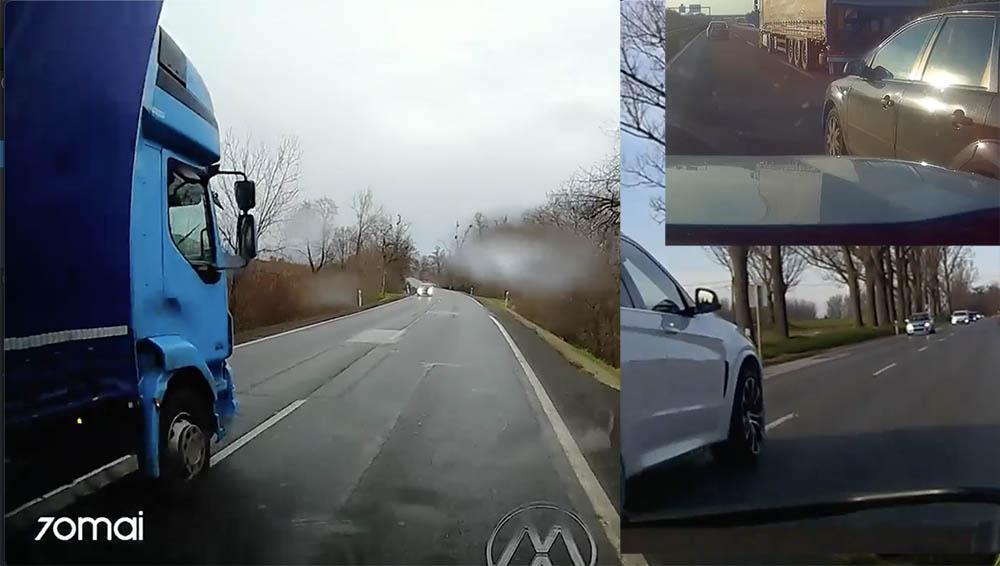 """VIDEÓ: """"Majdnem meghaltunk"""", """"Le ne menjünk az útról…"""" – Potenciális """"gyilkosok"""" a közutakon"""