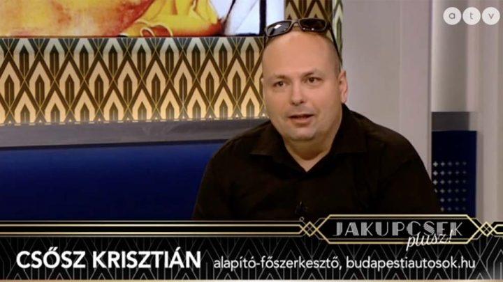 """A Jakupcsek Plusz vendége: Csősz Krisztián. """"Úton van a magyar, de sokat takar a kanyar?!"""""""