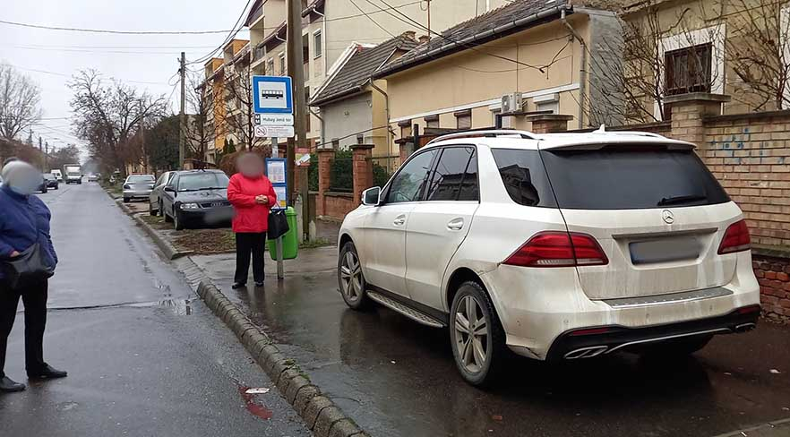 2020 legtahóbb parkolása a 15. kerületben