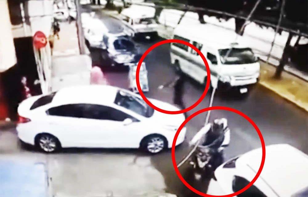 VIDEÓ: Nem tojt be, sőt… Keményen meglepte a fegyveres rablókat