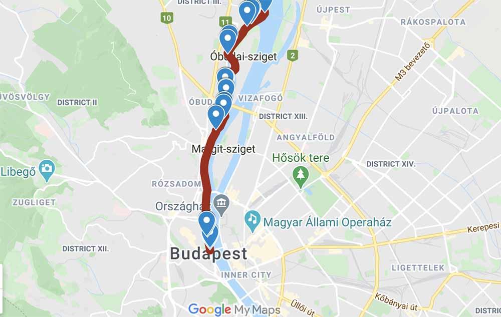 Kerékpár gigaprojekt nyomvonal tervet fogadtak el Budapesten. Így érinti majd az autós közlekedést