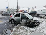 FOTÓK: Nem volt bekötve az a kisgyermek, aki reggel életét vesztette a 8-as főúton történt borzalmas balesetben