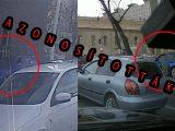 VIDEÓ: Egy nap alatt azonosította a rendőrség a járdán száguldozó kék autót