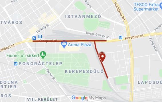 Bomba-hatástalanítás miatt lesz lezárás este Budapesten