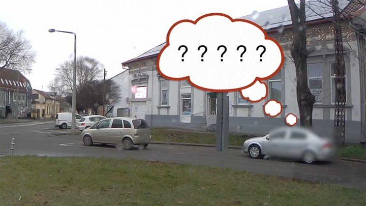 VIDEÓ: Nem akarta elhinni olvasónk azt, amit lát. Leparkolt a nő, majd bement a patikába