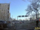 Felvételen, ahogy akcióba lendül a civil rendőr Skoda Debrecenben