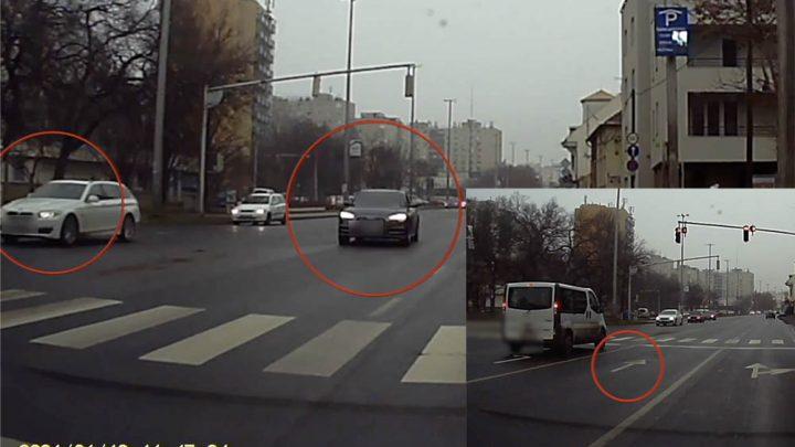 VIDEÓ: Olyan versenyt tolt az Audis és a BMW-s a forgalomban, amivel meglepte a szembejövőket is
