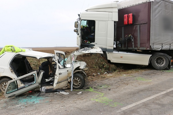 FOTÓK: Halálos baleset történt délelőtt Somogy megyében