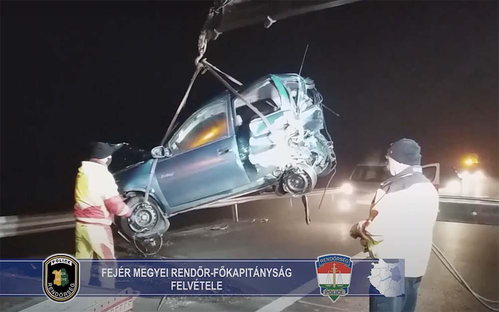 Meghalt egy 11 éves kislány az M6-oson. Őrizetbe vették a sofőrt, aki tragikus balesetet okozhatta