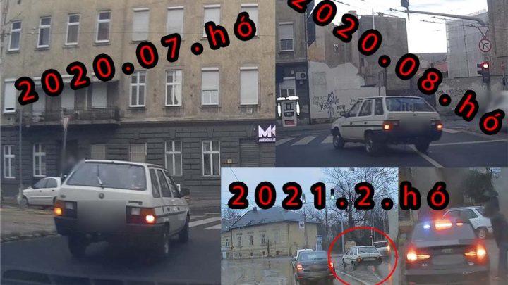 VIDEÓ: Itt láthatod, hogy a direkt szabályszegés sajnos egy életstílus és nem kell hozzá a drága autó