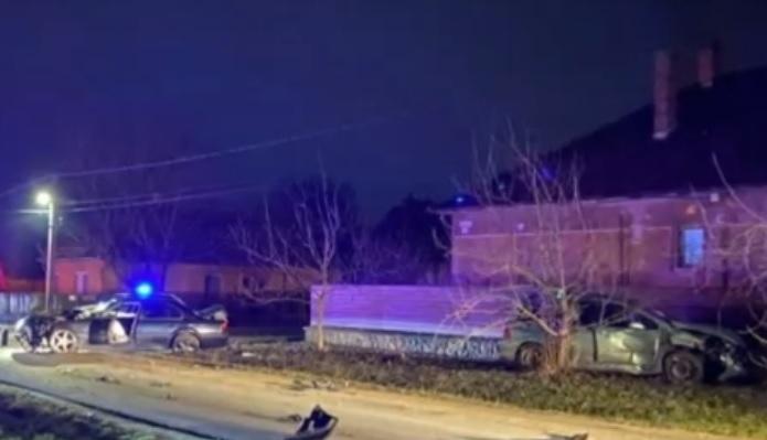 VIDEÓ: Kijárási korlátozást megszegve okozott balesetet egy fiatal Gyálon