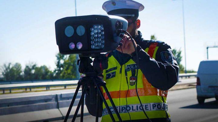 Idén is lesz Speed Marathon, a rendőrség nagyszabású, 24 órás sebességmérő razziája