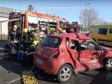 Videó a tegnapi – repülőtérre vezető úti – súlyos baleset utáni mentésről