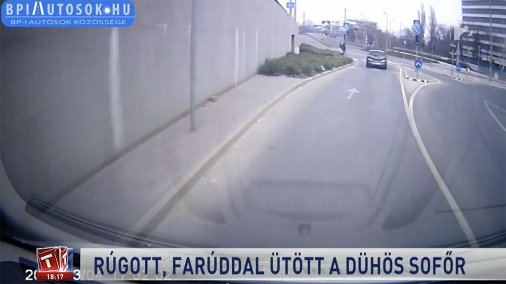 RIPORT: A rendőrök még aznap elfogták és felfegyverkezve elkövetett garázdaság bűntett megalapozott gyanúja miatt kihallgatták