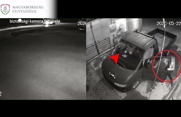 VIDEÓ: Helyet cserélt józan társával az ittas sofőr, mikor igazoltatni akarták a rendőrök